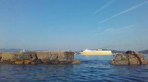 Mer Toulon 83000 Mer d' huile dans la rade de TOULON