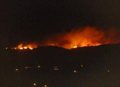 Vent La Croix-Valmer 83420 Incendie