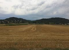 Nuages Mours-Saint-Eusebe 26540 Couvert ce matin, au-dessus des champs