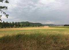 Nuages Mours-Saint-Eusebe 26540 Ciel couvert sur les champs