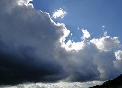 Nuages Saint-Maurice-Colombier 25260 Coin de ciel bleu