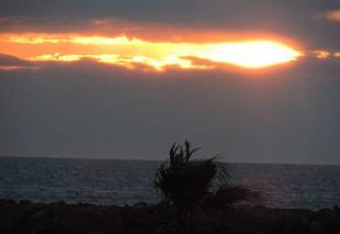 Ciel Port-la-Nouvelle 11210 Lever du soleil à Port la Nouvelle