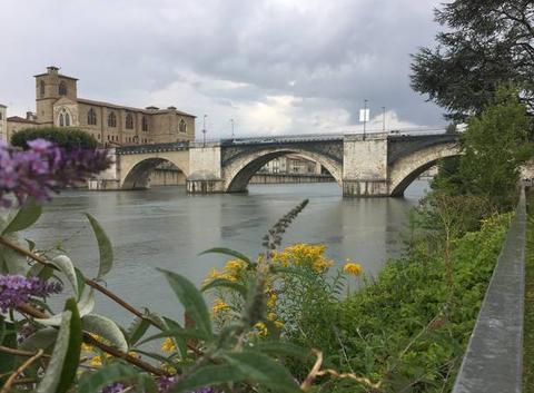 Petite pluie sur l'Isère
