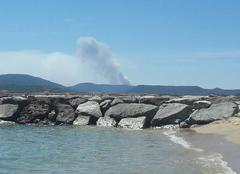 Catastrophe Sainte-Maxime 83120 Incendie