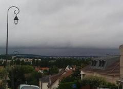 Ciel Antony 92160 Ligne de nuages Antony-Massy