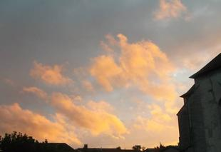 Ciel Doulaincourt-Saucourt 52270 Superbe coucher de soleil
