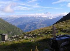 Ciel Villaroger 73640  refuge du Thuria
