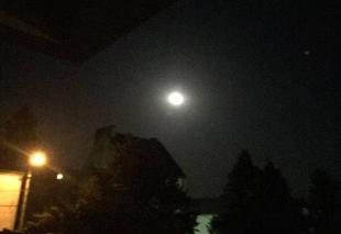 Ciel Olivet 45160 Clair de lune