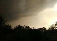 Retzwiller 68210 Avant l'orage