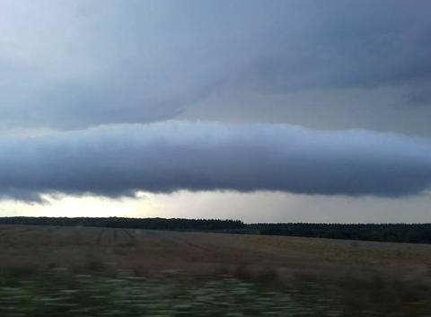 Un orage en préparation!