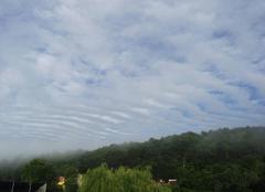 Nuages Brehain-la-Ville 54190 Vague de nuages ce matin