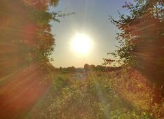 Ciel Amfreville 14860 Plein soleil sur amfreville