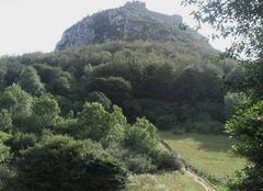 Ciel Montsegur 09300 Château  cathare