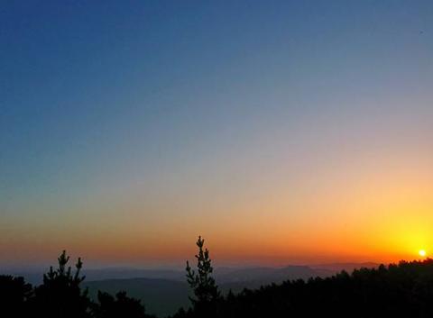 Lever du Soleil sur le Mont Ventoux