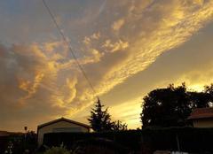 Ciel Saint-Ciers-sur-Gironde 33820 Un joli coucher de soleil