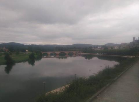 Ciel Couvert Cazères sur Garonne, panorama bord de garonne .