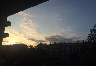 Ciel Toulouse 31000 Levé de soleil sur Toulouse !