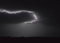 Orage Lafitte-Vigordane 31390 Orage mais peu de pluie