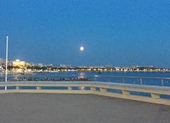 Ciel Cannes 06400 Éclipse partielle de lune à Cannes