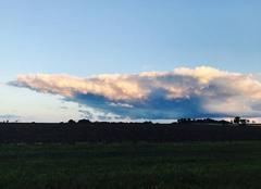 Ciel Saint-Pouange 10120 Un joli nuage après les orages