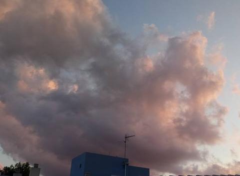 Nuage orageux sur Miami Platja