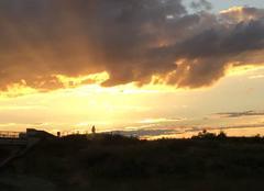 Ciel Givry 71640 Coucher de soleil en Bourgogne