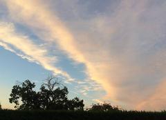 Ciel Villars-les-Bois 17770 Voile nuageux