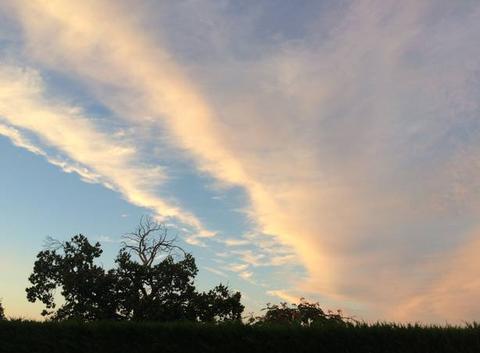 Voile nuageux