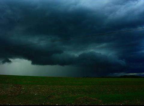 Aube 10 . ( Saulcy 10)  Dégradation orageuse du 08 Août 2017 ( Saulcy 10) . .