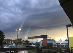 Nuages Valence 82400 Orage du 07/08/2017