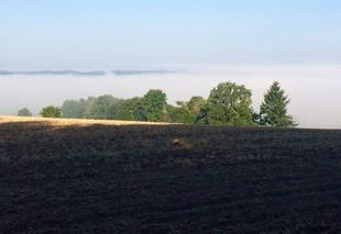 Ciel Saint-Jean-Ligoure 87260 Brume matinale