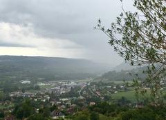 Pluie Saint-Cere 46400 Mur d'eau