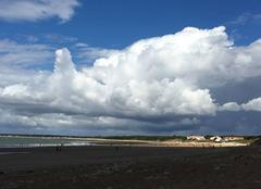 Ciel Longeville-sur-Mer 85560 L'instant d'un nuage noir