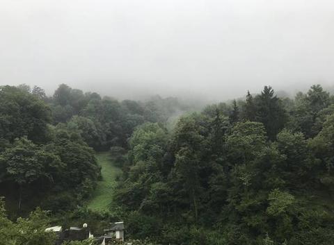 Heppenheim sous la pluie