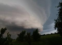 Orage Guincourt 08130 Nuage d'orage