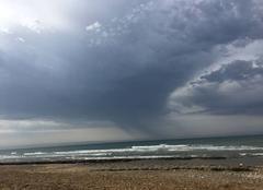 Orage Jard-sur-Mer 85520 Plage de la légère Jard sur Mer