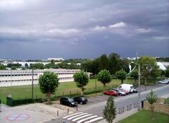 Nuages Behren-les-Forbach 57460 Un orage
