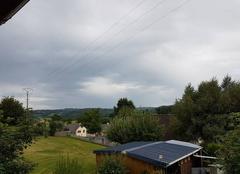 Orage Sainte-Genevieve-sur-Argence 12420 Orageux