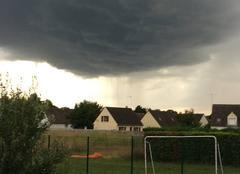Nuages Vic-sur-Aisne 02290 Le ciel est chargé