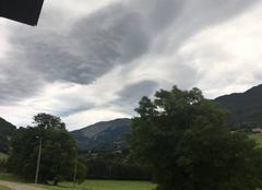 Nuages Chezery-Forens 01410 Nuage avant pluie