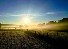 Ciel Ladapeyre 23270 Levé de soleil