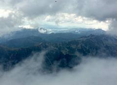 Ciel Chamonix-Mont-Blanc 74400 Les sommets autour de Chamonix