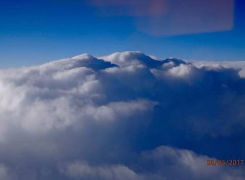 Cumulonimbus au sud de la France