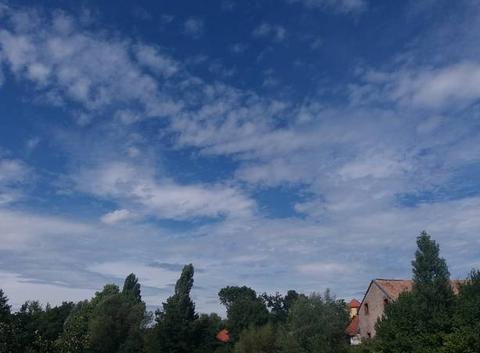 Temps chaud en Alsace.