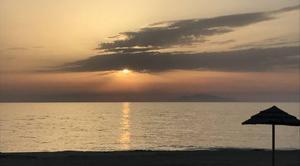 Mer Biguglia 20620 Lever de soleil