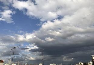 Ciel Paris-18 75018 Ciel du soir en contrastes