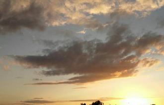 Ciel Le Perreux-sur-Marne 94170 Coucher de soleil et ses nuages ....
