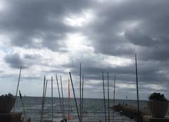 Nuages Sitges 08870 Sitges sous les nuages