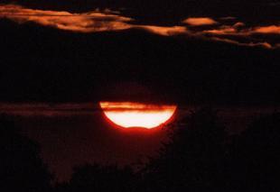 Ciel Villers-Saint-Paul 60870 Eclipse partielle de soleil du 21/08/2017