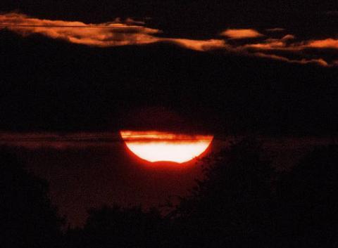 Eclipse partielle de soleil du 21/08/2017